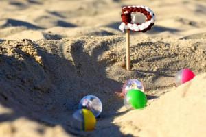 ... i giochi sulla sabbia!